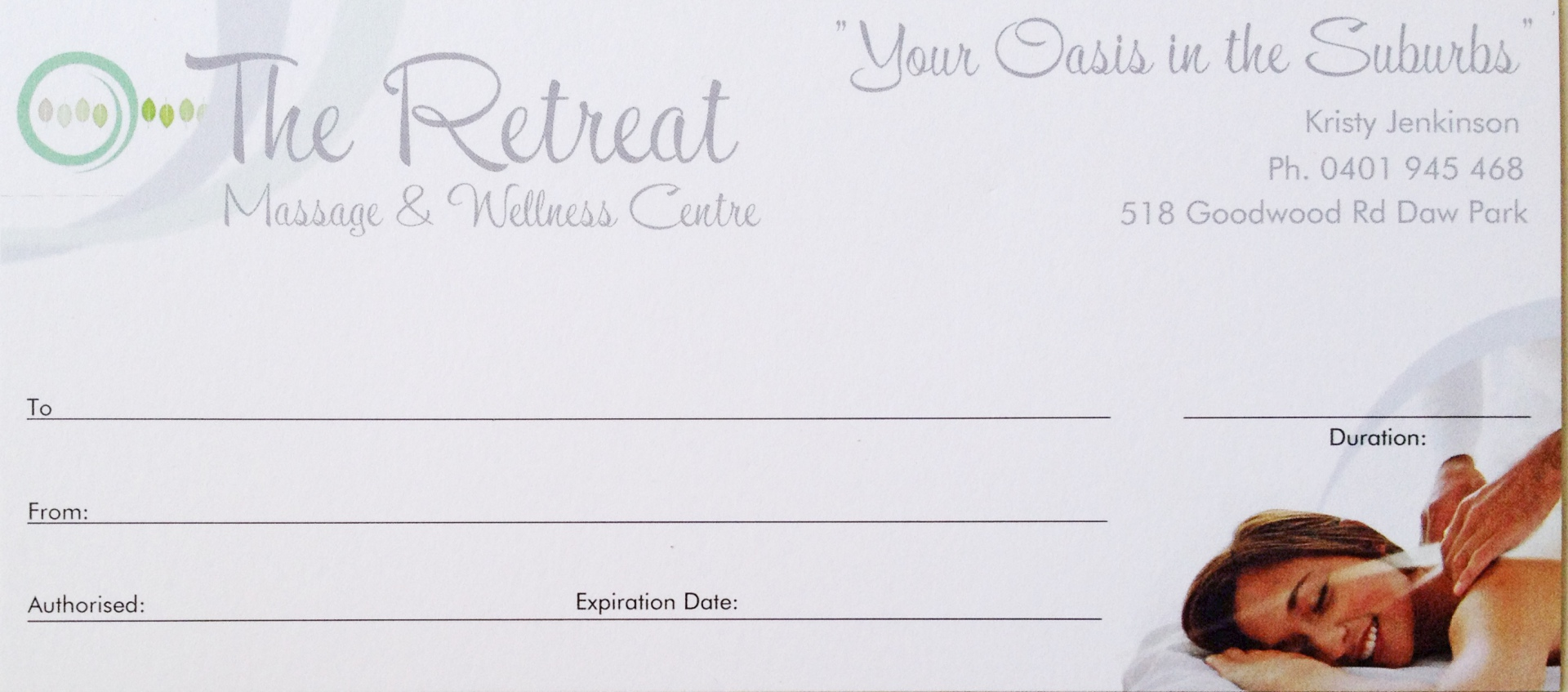 The Retreat Gift Vouchers